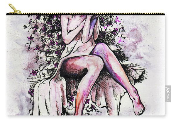 A Pretty Flower Carry-all Pouch
