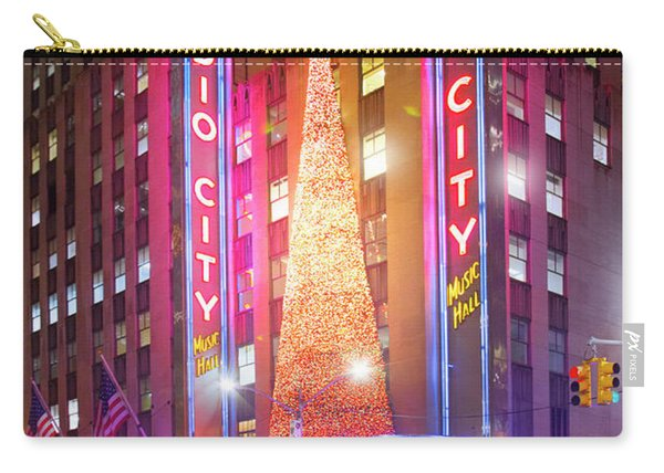 A Radio City Music Hall Christmas Carry-all Pouch