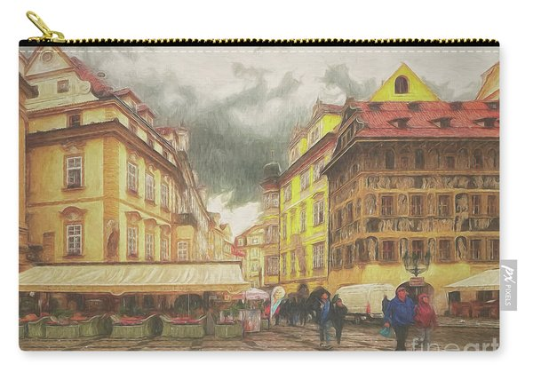 A Rainy Day In Prague Carry-all Pouch