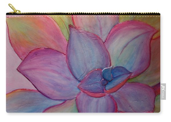 Carry-all Pouch featuring the painting A Reason For Being by Sandi Whetzel