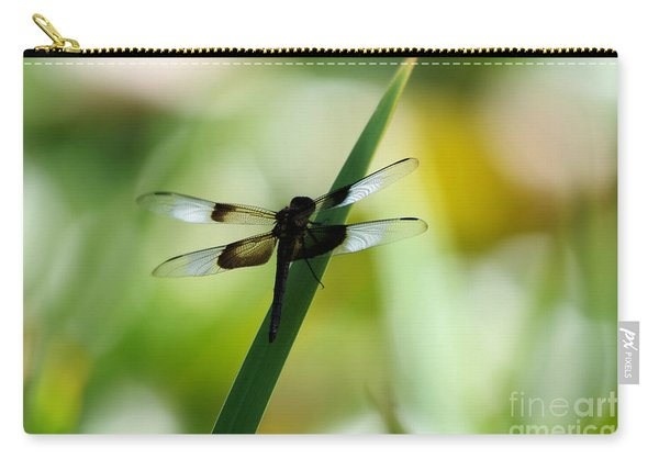 A Red Winged Dragonfly Carry-all Pouch