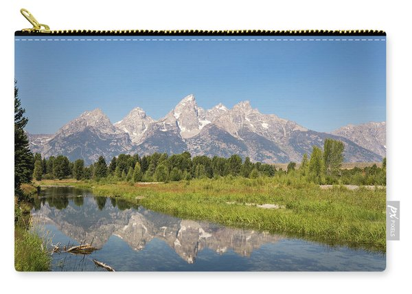 A Reflection Of The Tetons Carry-all Pouch