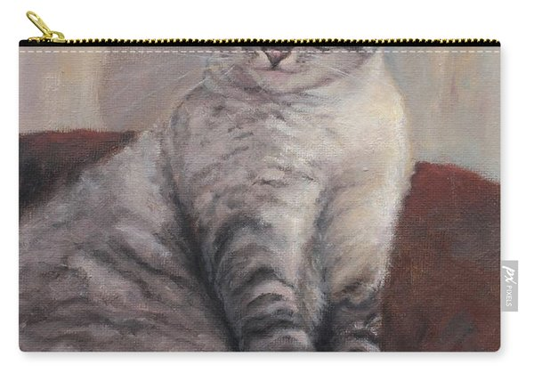 A Regal Pose Carry-all Pouch
