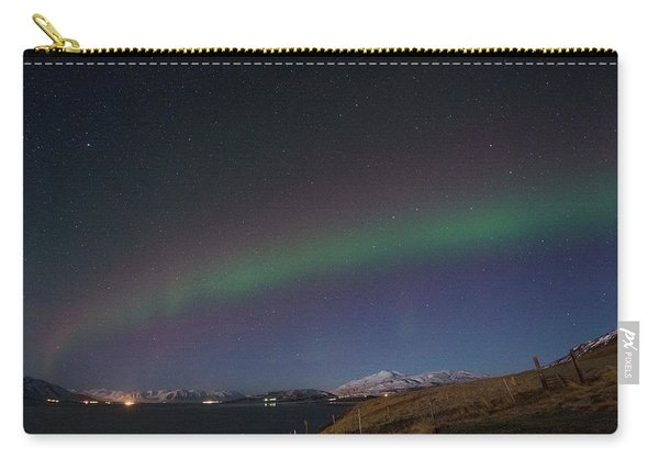 A Ribbon Of Northern Lights Carry-all Pouch