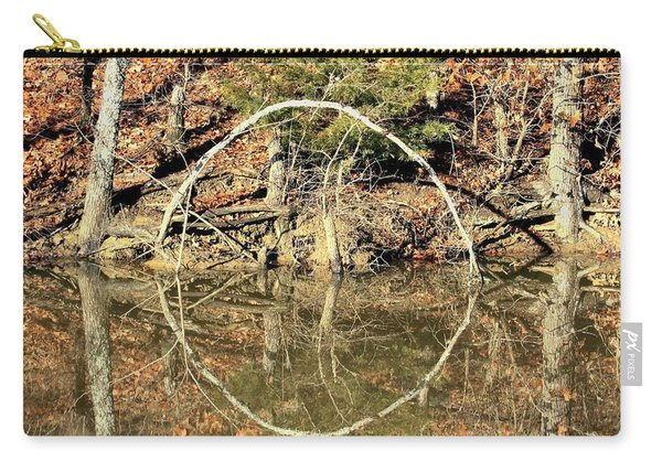 A Ring On The Pond In Fall Carry-all Pouch