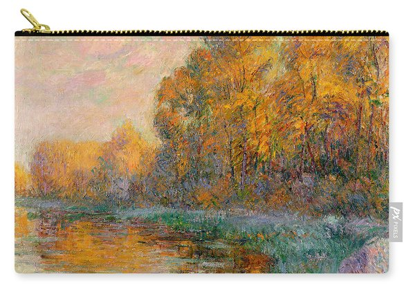 A River In Autumn Carry-all Pouch