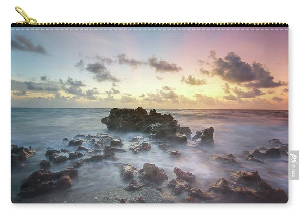 A Rocky Sunrise. Carry-all Pouch
