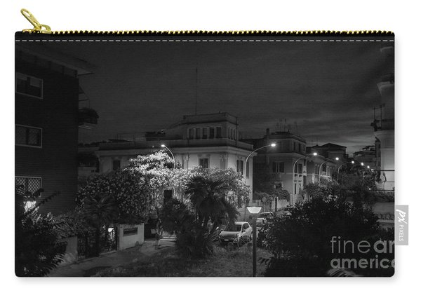 A Roman Street At Night Carry-all Pouch