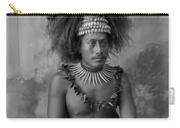 A Samoan High Chief Carry-all Pouch
