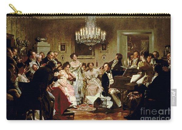 A Schubert Evening In A Vienna Salon Carry-all Pouch