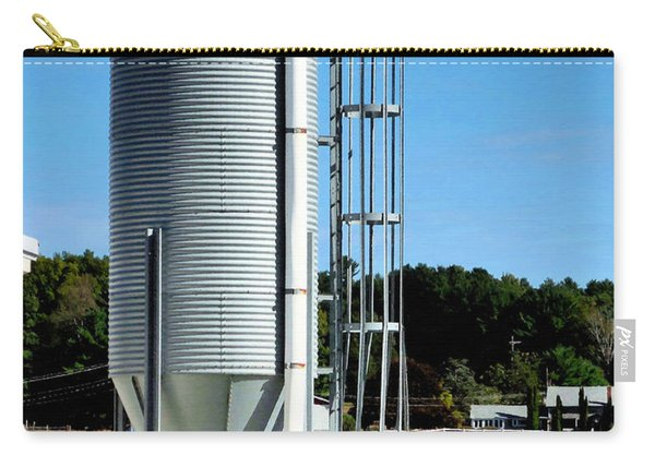 A Silo And Farm Building 2 Carry-all Pouch