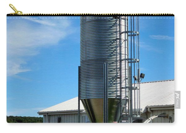 A Silo And Farm Building 3 Carry-all Pouch