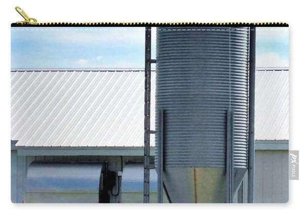 A Silo And Farm Building Carry-all Pouch