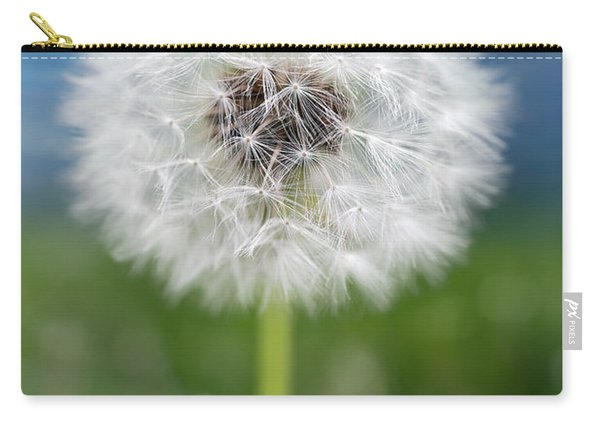 A Single Dandelion Seed Pod Carry-all Pouch