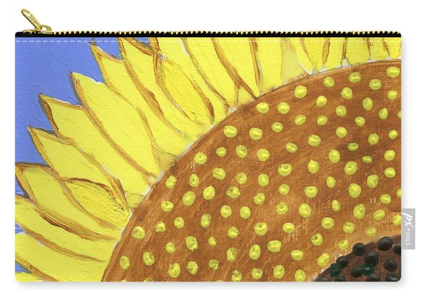 A Slice Of Sunflower Carry-all Pouch