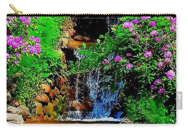 A Small Waterfall In Hbg Sweden Carry-all Pouch