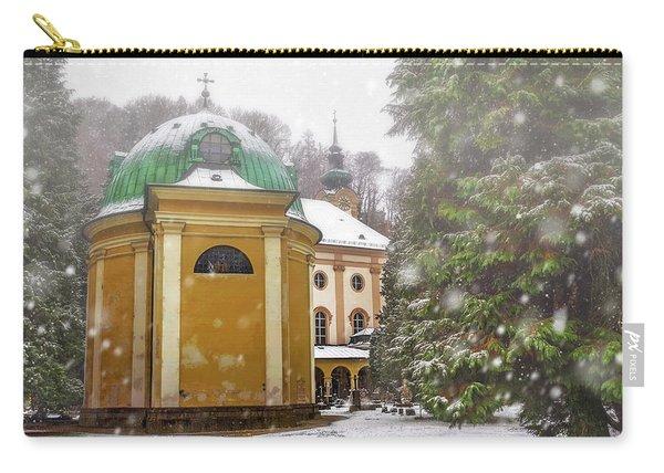 A Snowy Day In Salzburg Austria  Carry-all Pouch