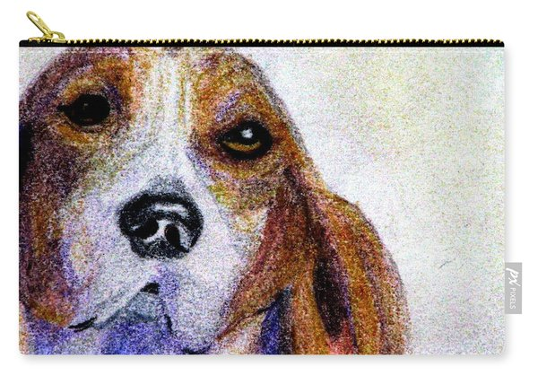 A Soulful Hound Carry-all Pouch