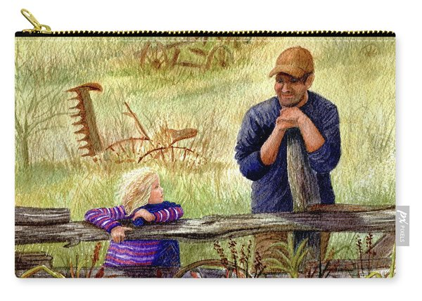 A Special Moment With Dad Carry-all Pouch