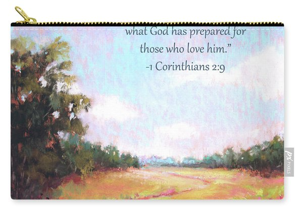 A Spring To Remember With Bible Verse Carry-all Pouch