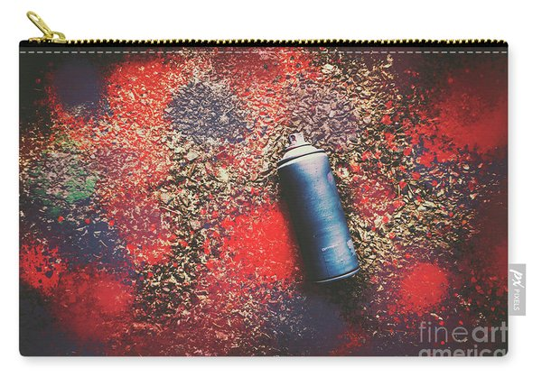 A Street Art Composition Carry-all Pouch