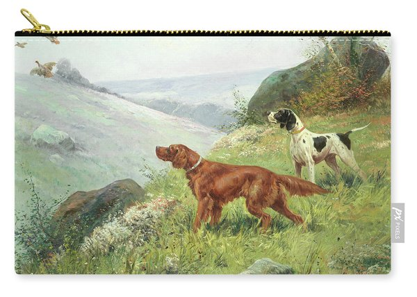 A Study Of Gun Dogs Carry-all Pouch