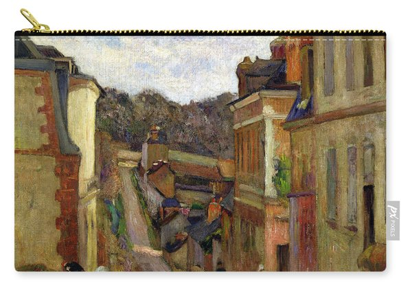 A Suburban Street Carry-all Pouch