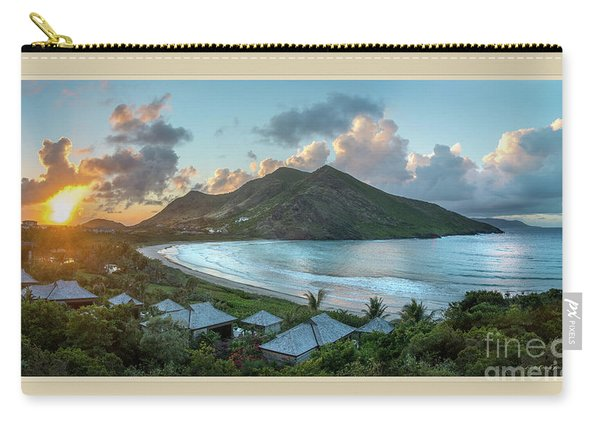 A Sunset On Bay Carry-all Pouch
