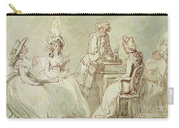 A Tea Party Carry-all Pouch