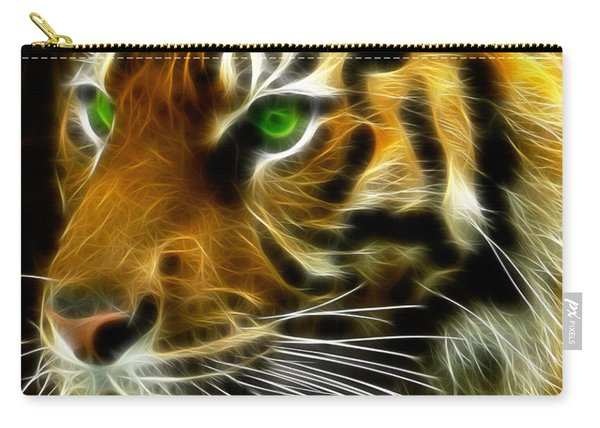 A Tiger's Stare Carry-all Pouch