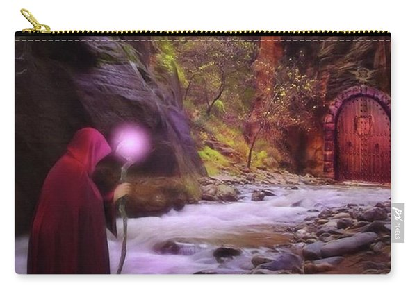A Touch Of Fantasy - The Road Less Carry-all Pouch
