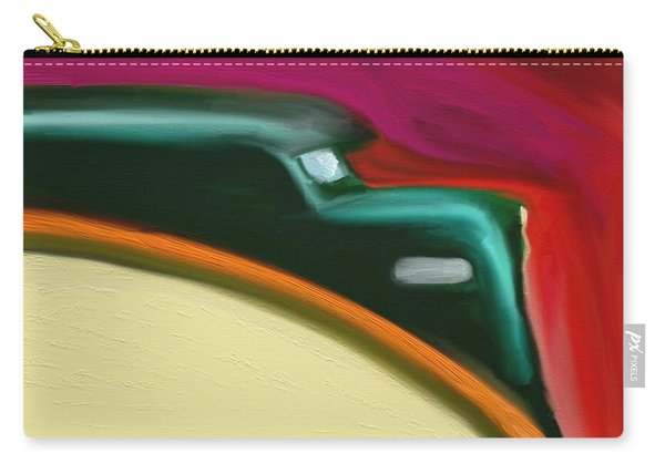 A Train In Maine - Art By Bill Tomsa Carry-all Pouch