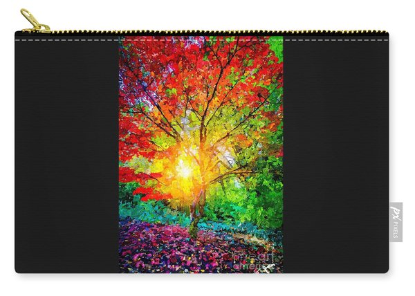 A Tree In Glory Carry-all Pouch