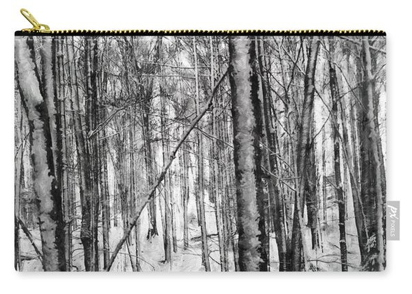 A Tree's View In Winter Carry-all Pouch