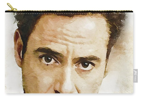 A Tribute To Robert Downey Jr. Carry-all Pouch