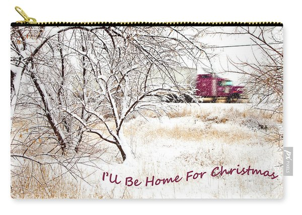 A Trucker's Christmas Card Carry-all Pouch