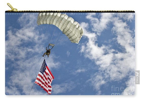 A U.s. Air Force Member Glides Carry-all Pouch