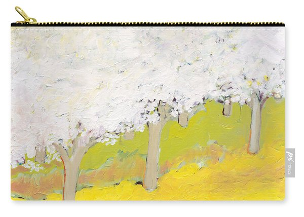 A Valley In Bloom Carry-all Pouch