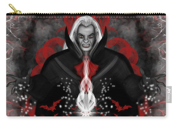 Carry-all Pouch featuring the painting A Vampire Quest Fantasy Art by Raphael Lopez