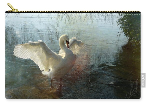 A Very Fine Swan Indeed Carry-all Pouch