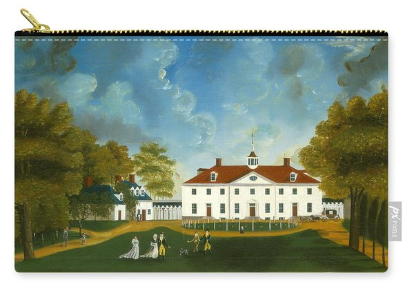 A View Of Mount Vernon Carry-all Pouch