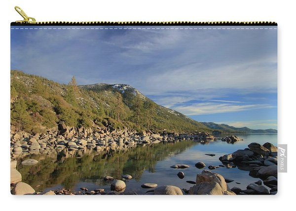 Carry-all Pouch featuring the photograph A View To Herlan Peak by Sean Sarsfield