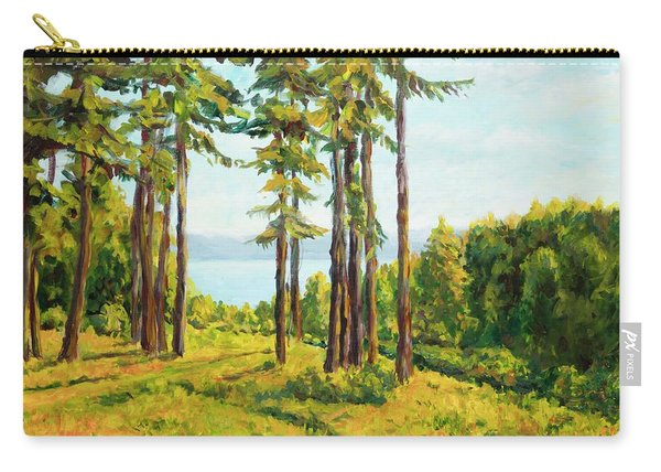 A View To The Lake Carry-all Pouch
