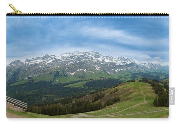 A View To The Saentis, Switzerland Carry-all Pouch