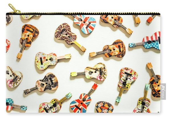 A Visual Play In Music Carry-all Pouch