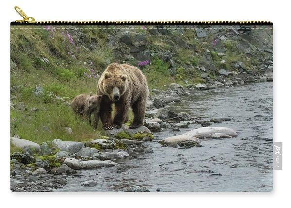 A Walk Along The Creek Carry-all Pouch