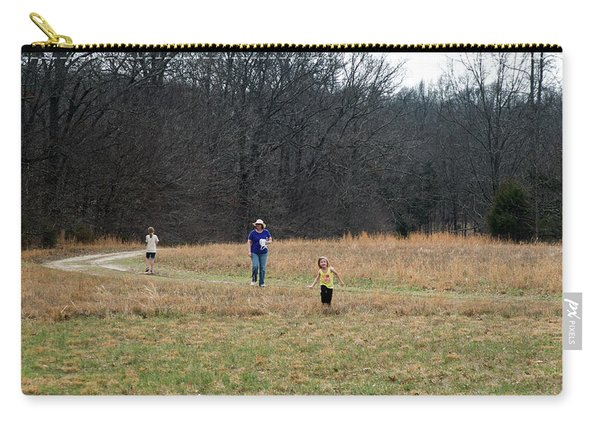 A Walk In A Field Carry-all Pouch