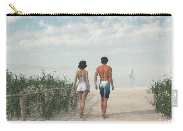 A Walk In The Sand Dunes Carry-all Pouch