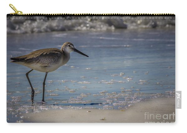 A Walk On The Beach Carry-all Pouch