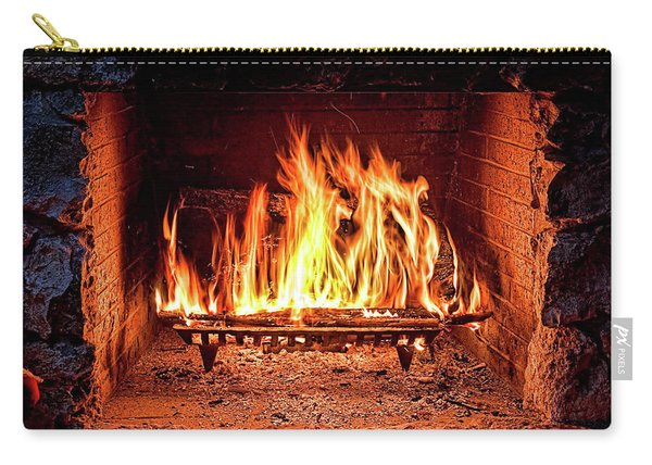 A Warm Hearth Carry-all Pouch